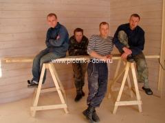 Бригада плотников 2010 год