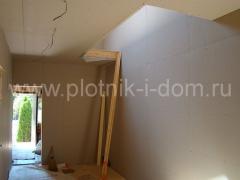 После ремонт - деревянный дом