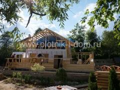 Строительство каркасной пристройки к дому