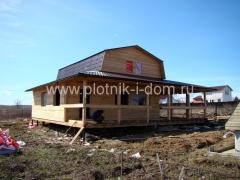 Строительство пристройки к дому из бруса