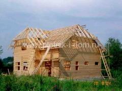Строительство стропильной системы крыши