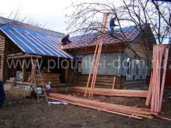 Строительство крыши - монтаж обрешетки