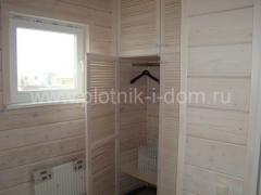 Отделка в деревянном доме