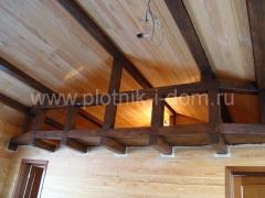 Внутренняя отделка в деревянном доме