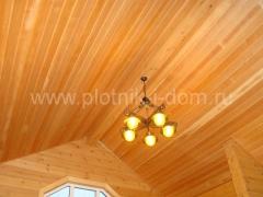 Обшивка вагонкой потолок