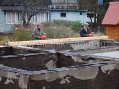 Плотницкие строительные работы