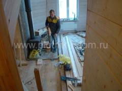 Отделочные работы в деревянном доме