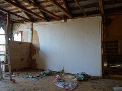 Реконструкция деревянного дома, второй этаж
