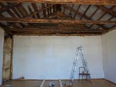 Реконструкция деревянного дома, мансарда