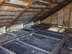 Реконструкция деревянного дома, чердак