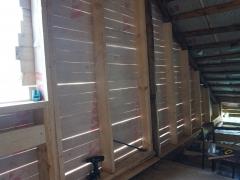 Реконструкция деревянного дома, строительные работы