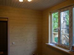 Реконструкция деревянного дома, отделка