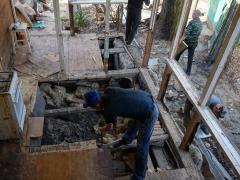 Ремонт деревянных полов - демонтаж пола