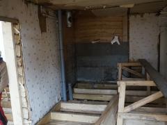 Ремонт пола - замена деревянных лаг