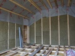 Ремонт мансарды в деревянном доме
