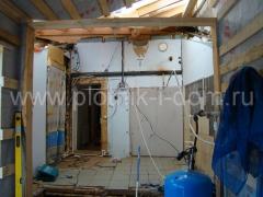 Внутренний ремонт в деревянном доме