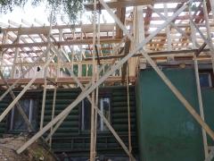 Надстройка второго этажа деревянного дома
