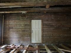 Ремонт внутри старого сруба