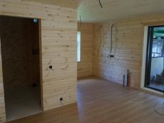 Ремонт и отделка внутри деревянного дома