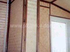Комбинированная отделка стен - декоративные панели