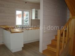Отделка внутри деревянного дома